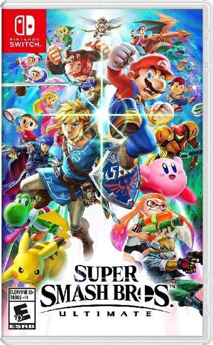 Super Smash Bros. Ultimate para Nintendo Switch.