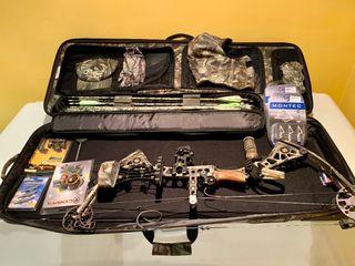 Equipo completo de caza con arco - sin usar!