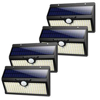 4 Focos solares LED con 138 led (A ESTRENAR)
