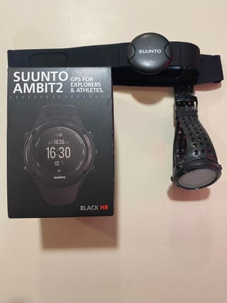 Reloj Suunto ambit 2 black HR