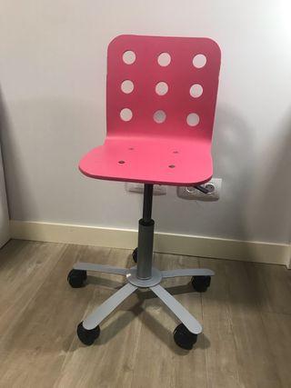 Silla escritorio niña IKEA