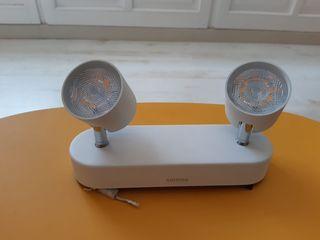 Lámpara Spot Star Led 2 luces Philips
