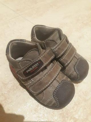 zapatos pablosky marrones