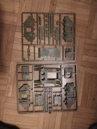 Matrices Rhino Warhammer Conquest