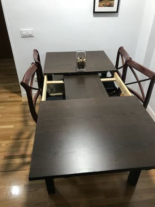 Mesa comedor 6 personas extensible 8 Ikea Bjursta