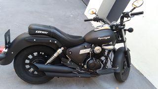 Keeway Superlight 125 custom