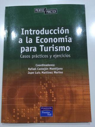 Libro introducción a la economía para turismo UNED