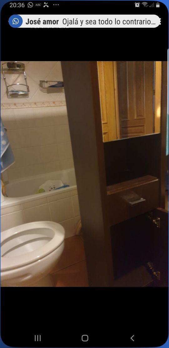 armario baño color wenge
