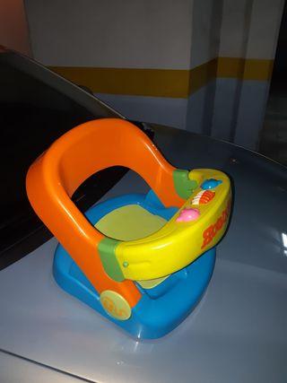 asiento Rounder para bebé ducha