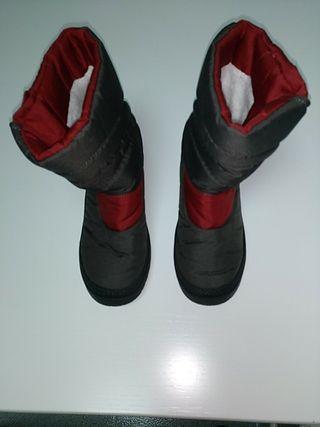 botas de niño para nieve