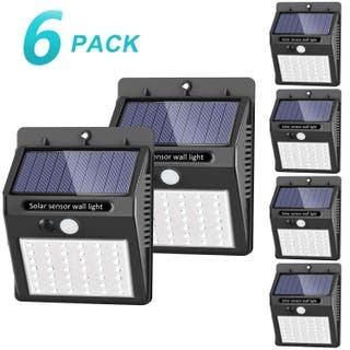 6 Focos solar LED con 42 led (A ESTRENAR)