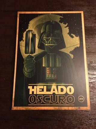CUADRO LA GUERRA DE LAS GALAXIAS , PARODIA