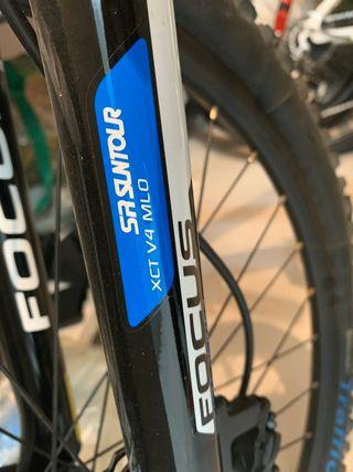 Bicicleta Focus whistler.