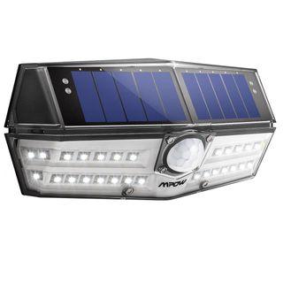 Foco solar 30 LED con sensor de movimiento (NUEVO)