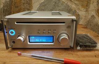 Amplificador/Receptor CD Teac CR-H101 Plata