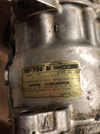 Compresor Aire Acondicionado ZX 16v