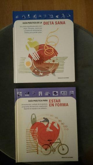 """Libros """"saludables"""" guías prácticas"""