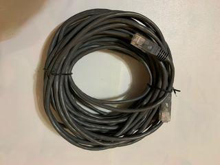 10 METROS CABLE PARA INTERNET