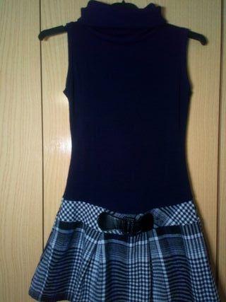 vestido corto informal morado