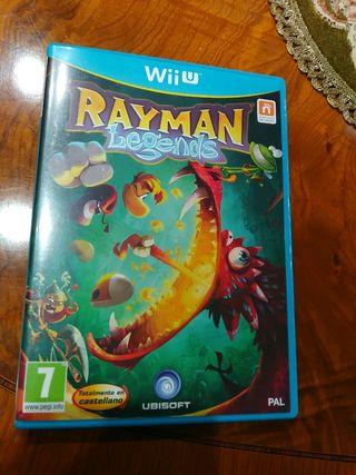 Rayman Legends Nintendo Wii u Pal españa impoluto