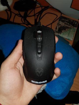 raton gaming KROM