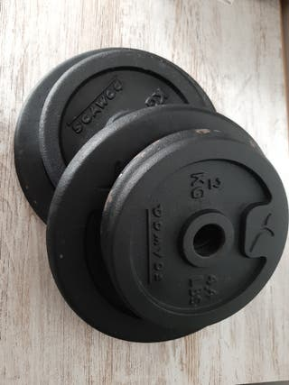 Maletines de pesas