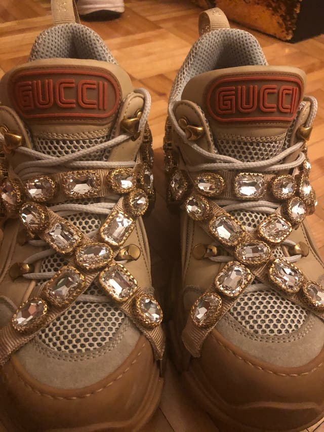 Gucci women's flashtrek sneakers