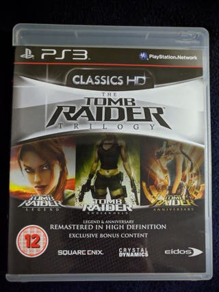TOMB RAIDER TRILOGIA PS3 PLAYSTATION