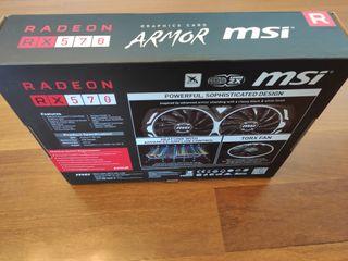 MSI Radeon shappire Rx 570