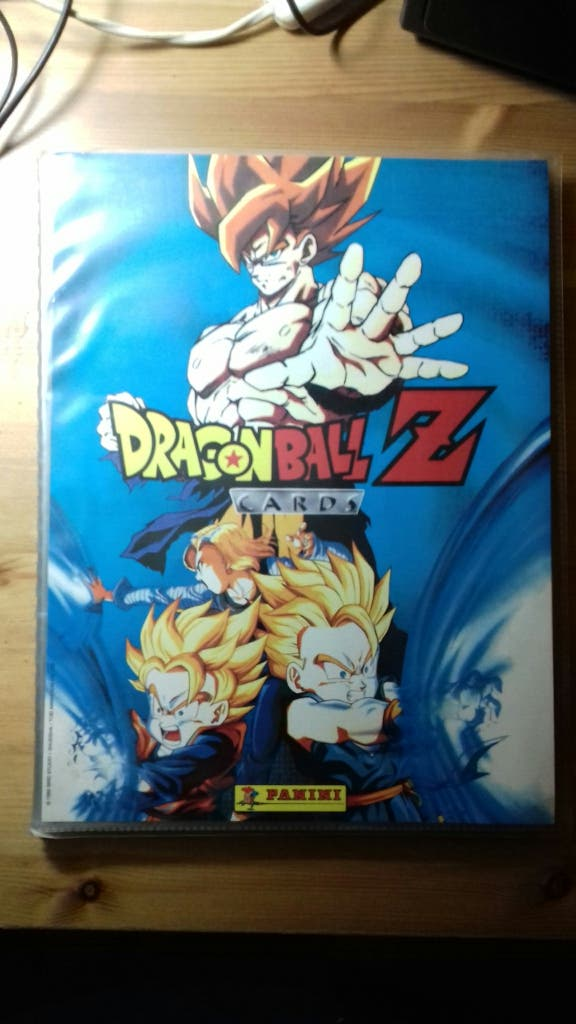Album Dragon Ball Z Cards