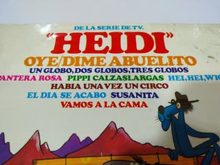Heidi Oye Dime Abuelito Pantera Rosa LP Vinilo