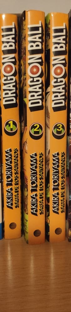 Dragon Ball Saga de los saiyanos 1-3