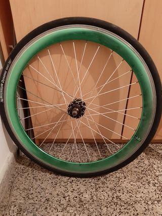 rueda de perfil