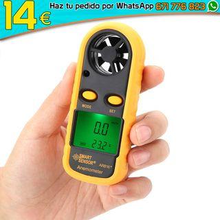 Anemómetro digital de bolsillo windsurf