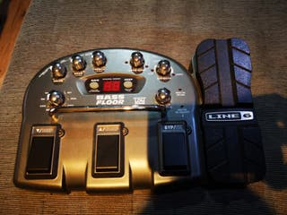 Bass floor Pod synth control