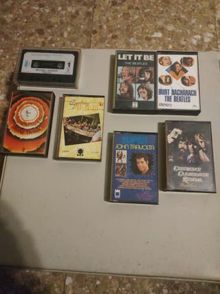 más cassettes antiguos