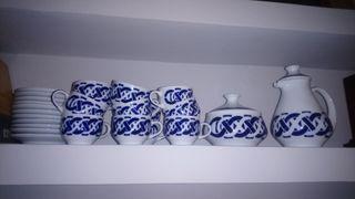 juego de café Sargadelos para 11