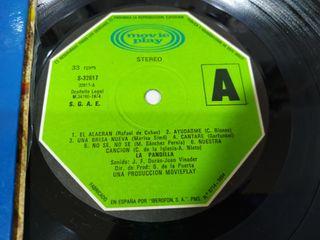 La Pandilla Exitos Movieplay 1974 - LP Vinilo