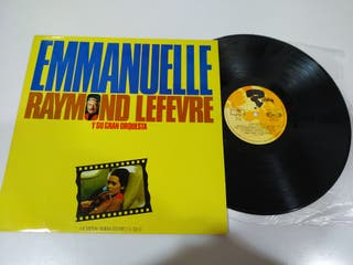 Raymond Lefevre Emmanuelle Riviera 1975 LP Vinilo