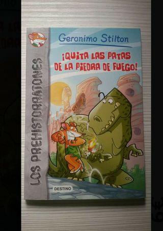 Libro de Geronimo Stilton Los Prehistorratones (