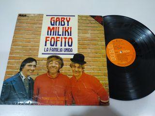 Gabi Miliki Fofito Familia Unida Payasos LP Vinilo