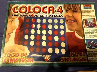 Juego Coloca 4