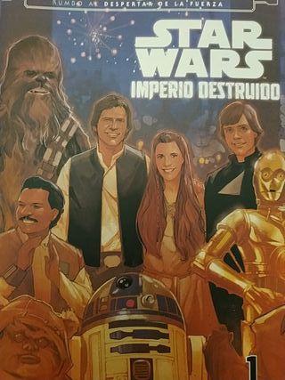 Comics Star Wars Imperio Destruido completo