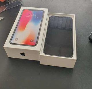 IPhone X 64gb Negro con garantía