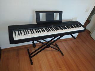 Cambio piano digital Yamaha p45