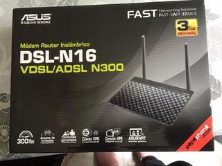 Modem Router ADSL Asus