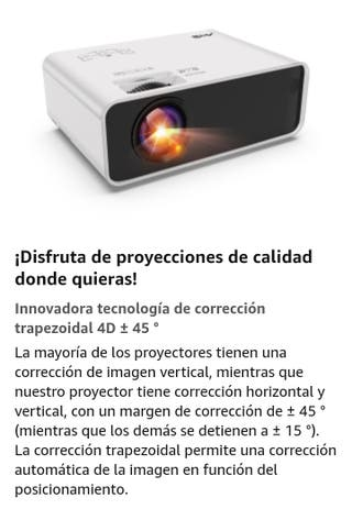 """PROYECTOR LED 115"""""""