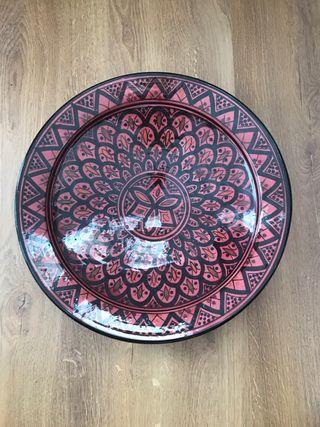 Plato Loza 35cm diámetro