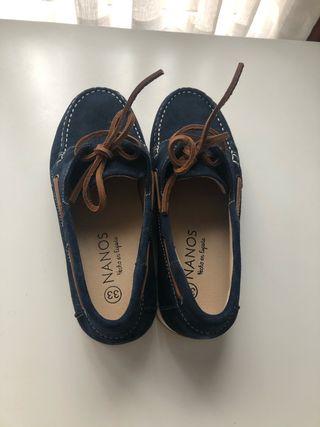 Náuticos azules Nanos talla 33