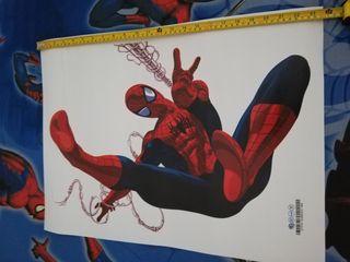 vinilo pared spiderman